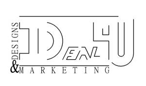 Ideal4u Designs and Marketing Logo