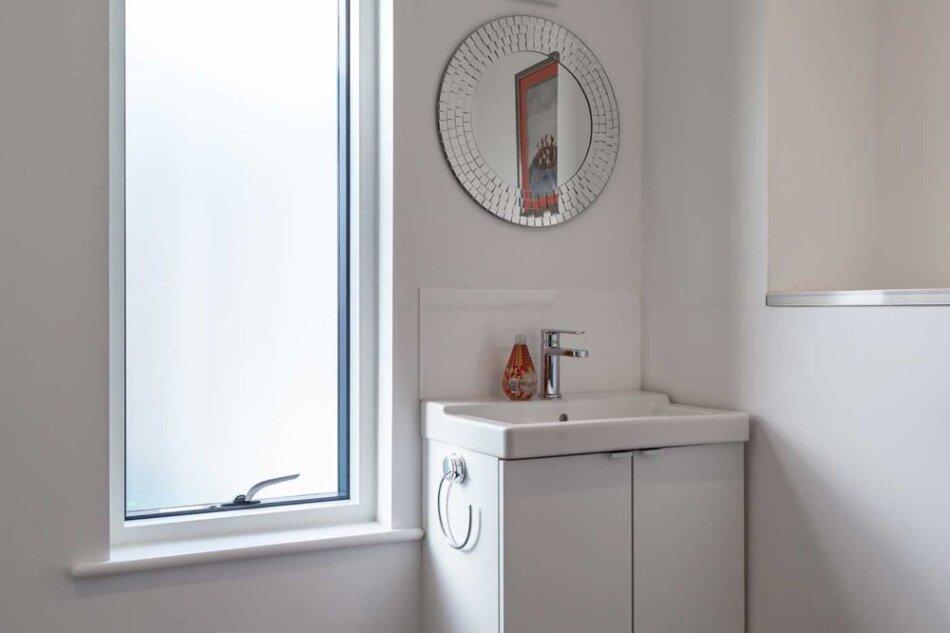 Idealcombi badeværelsesvindue