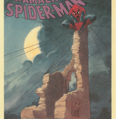 "Quarterbin Follies #31: Spider-Man says ""Happy St Andrew's Day!"""