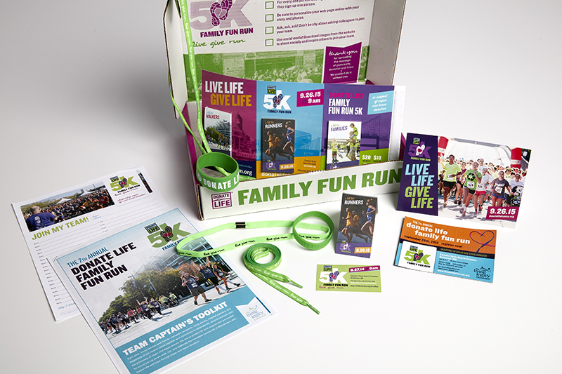 Fun Run materials box