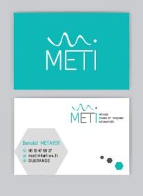 Idales Communication Graphique Cartes De Visite METI
