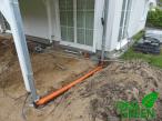 Terrasse Vordach Entwässerung