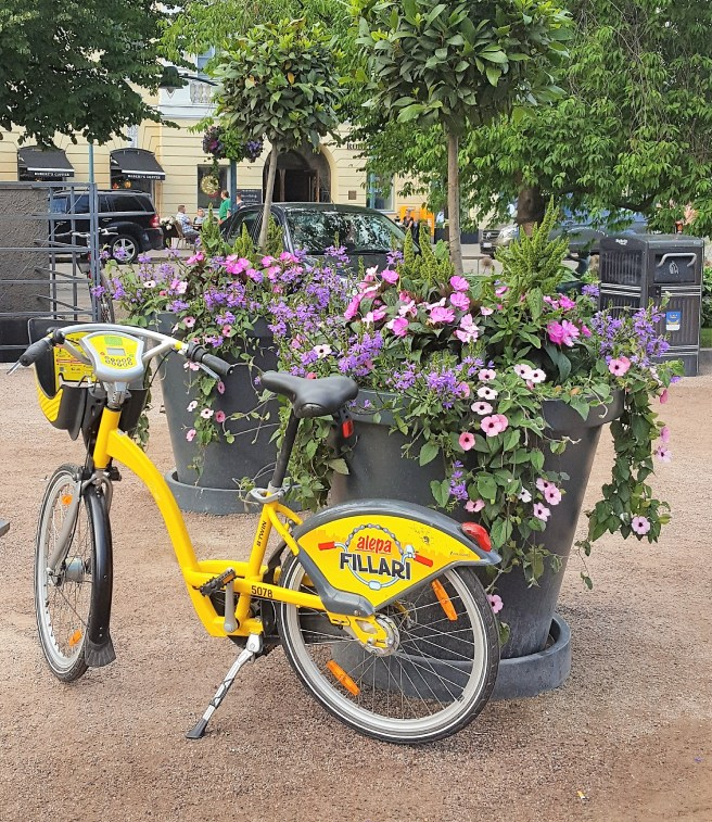 City bike in Helsinki.