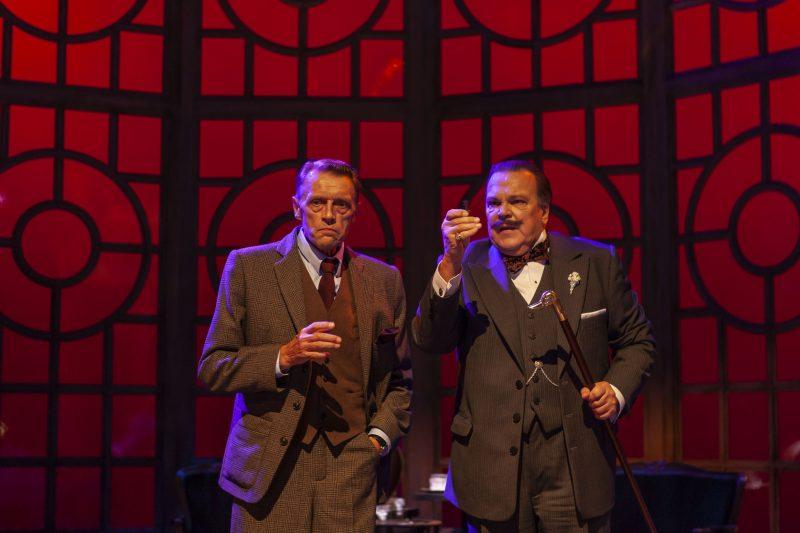 Hämeenlinnan Teatteri: Agatha Christien näytelmä Kahvi mustana