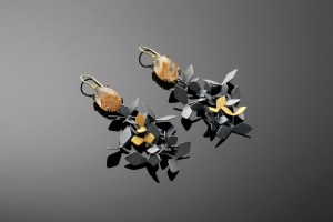 Black Forest Sunshine- earrings, Chao-Hsien Kuo. Image: Chao & Eero.