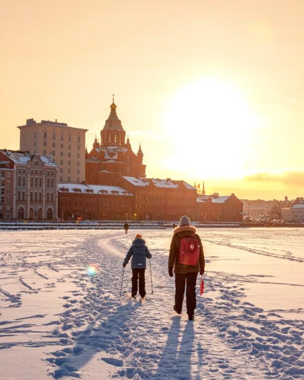 Helsinki Talvella.