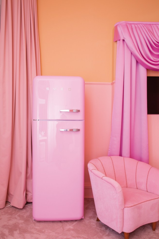 Klaus K & Valio Sweet Suite - Freezer full of ice cream. Image: Valio