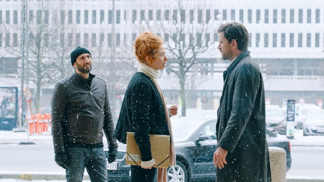 The Purity of Vengeance (2018) - Fares Fares, Johanne Louise Schmidt ja Nikolaj Lie Kaas. Kuva: Night Visions.