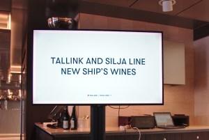 Tallink Silja Line esitteli toukokuussa uudet Laivan viinit.
