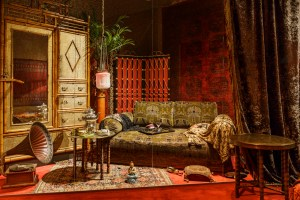 Turkish salon at villa Hakasalmi. Image: Helsinki City Museum / Maija Astikainen