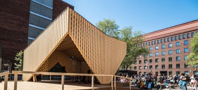 Annantalon A-lava toimii yhtenä kaupunkitanssien lavana. Kuva: Kulttuuri Helsinki.