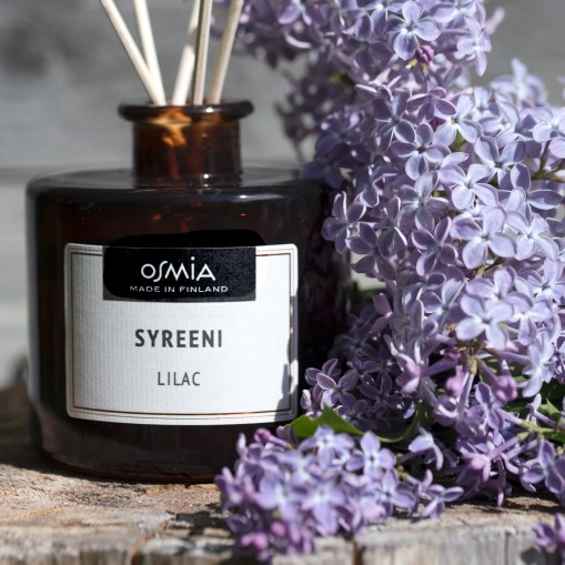 Osmia Factory Outlet Osmia is located in Herttoniemi. One part of the selection is home aromas Osmia Oy, Rosa Yliaho