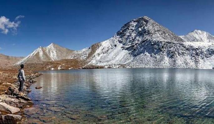 Batogh Top Lake Chilas