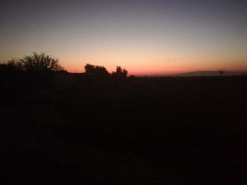 sunset view wallpaper