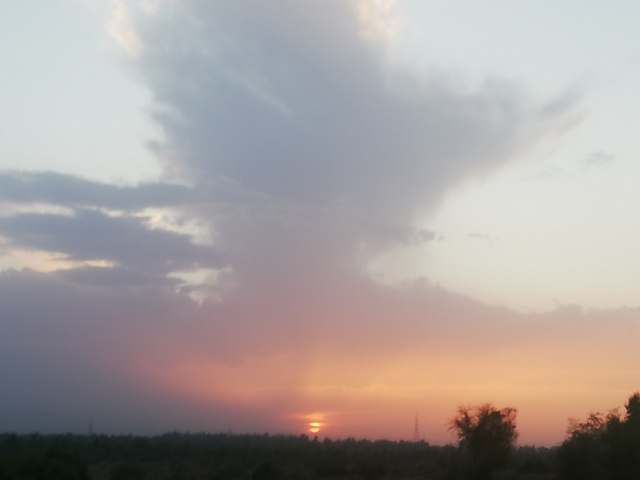 Images of the Sunset