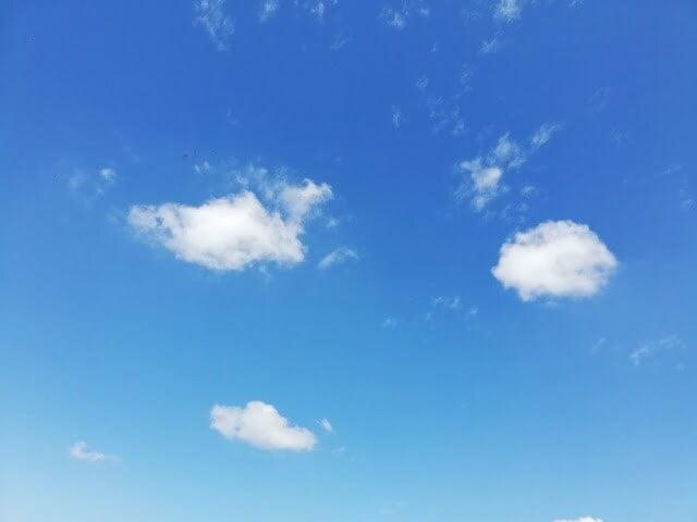 light sky blue background