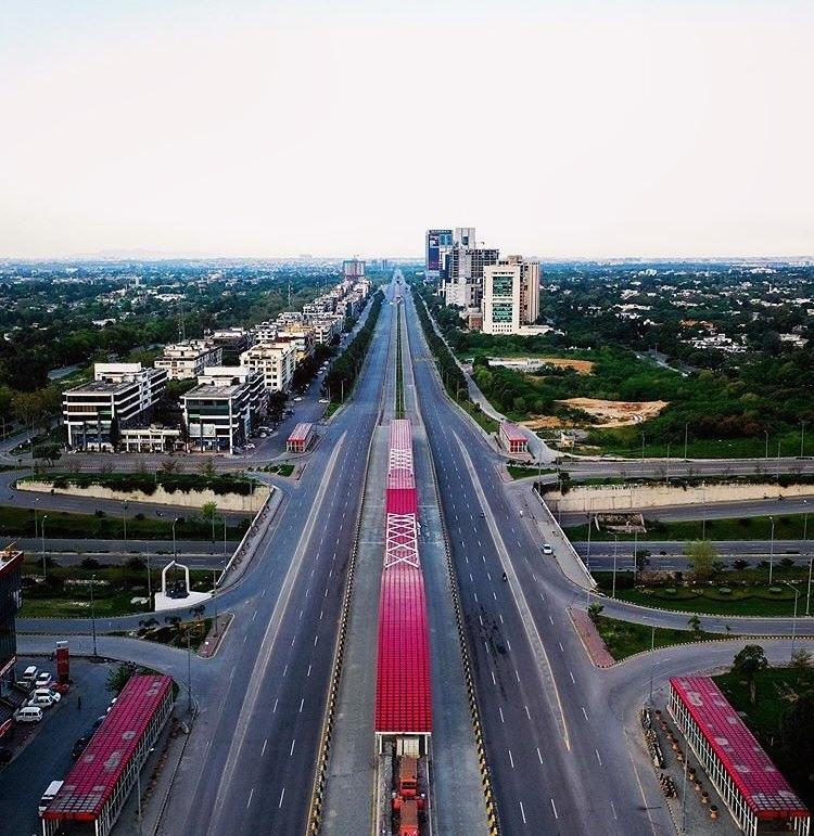 Beauty of Islamabad in Lockdown
