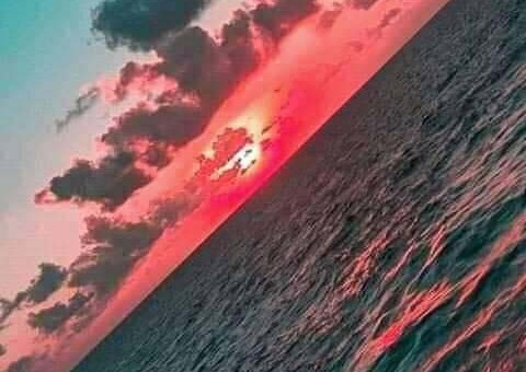 Most Beautiful Sunset at the Beach