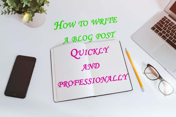 How to write a blog post professionally