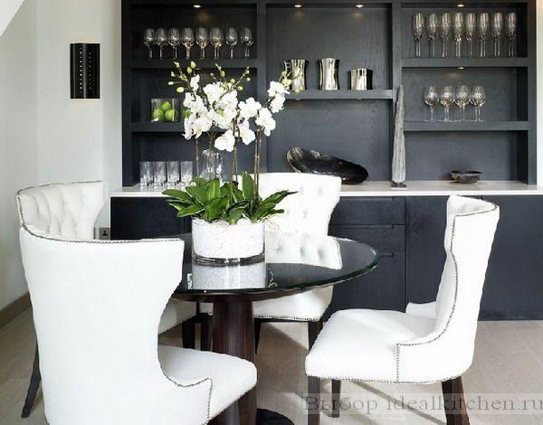 красивая кухня-столовая - фото