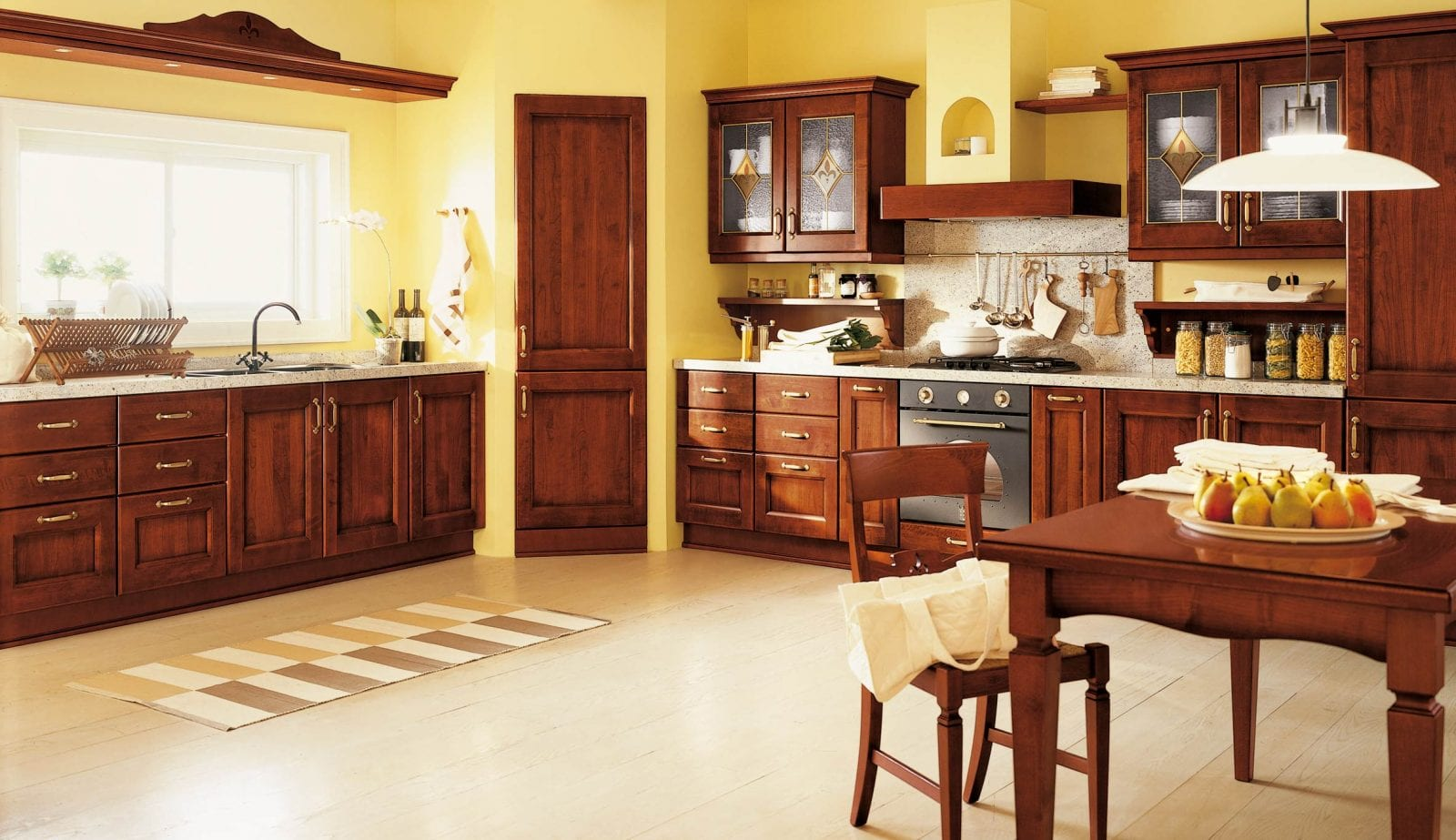 Yellow And Brown Kitchen Ideas