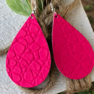 Bright Pink Raindrops Collection