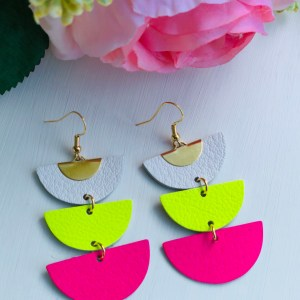 Neon Pink and Yellow Demi Collection