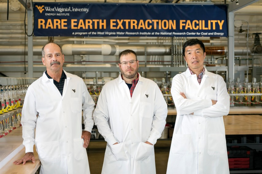 WVU opens new research facility to extract valuable rare earth elements from Acid mine drainage