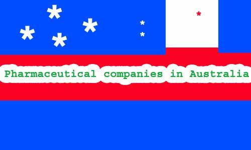 pharmaceutical companies in Australia
