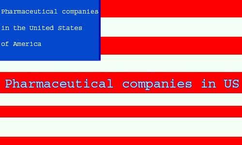 pharmaceutical companies in US