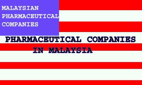 PHARMACEUTICAL COMPANIES IN MALAYSIA