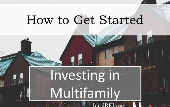 How to start investing in multifamily
