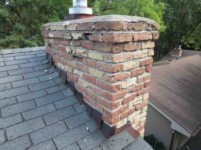 Chimney Repair roof inspection