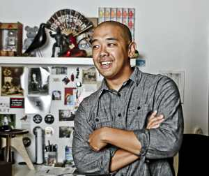 Jeff Staple - founder and owner of Staple Design, Staple Clothing and Reed Space