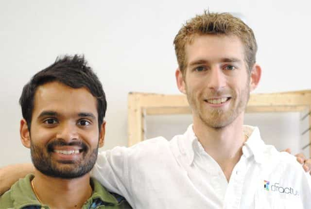 Abhi Lokesh and Alex Theodore - Co-founders of Fracture