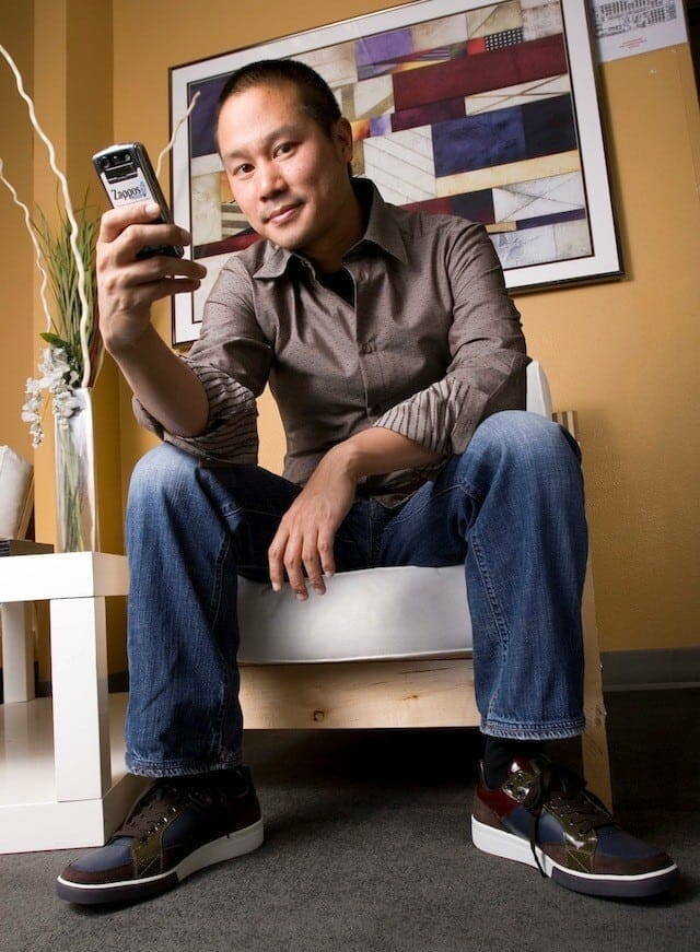 Tony Hsieh - CEO of Zappos