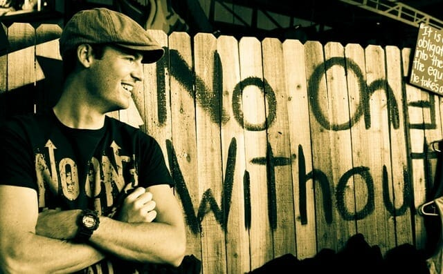 Gaston Javurek - Social Entrepreneur and Co-founder of No One Without