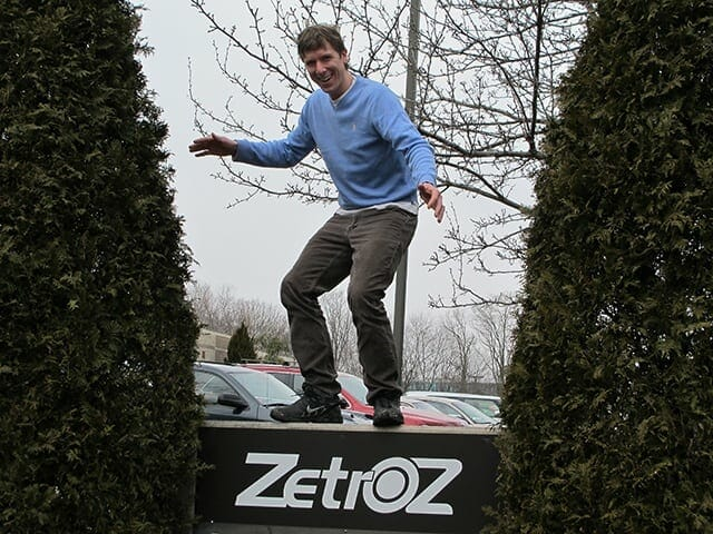 George Lewis - Co-founder of ZetrOZ