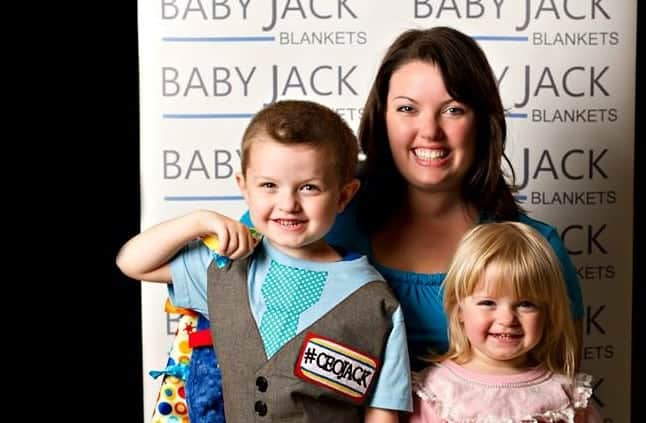 Kelley Legler - Owner of Baby Jack Blankets