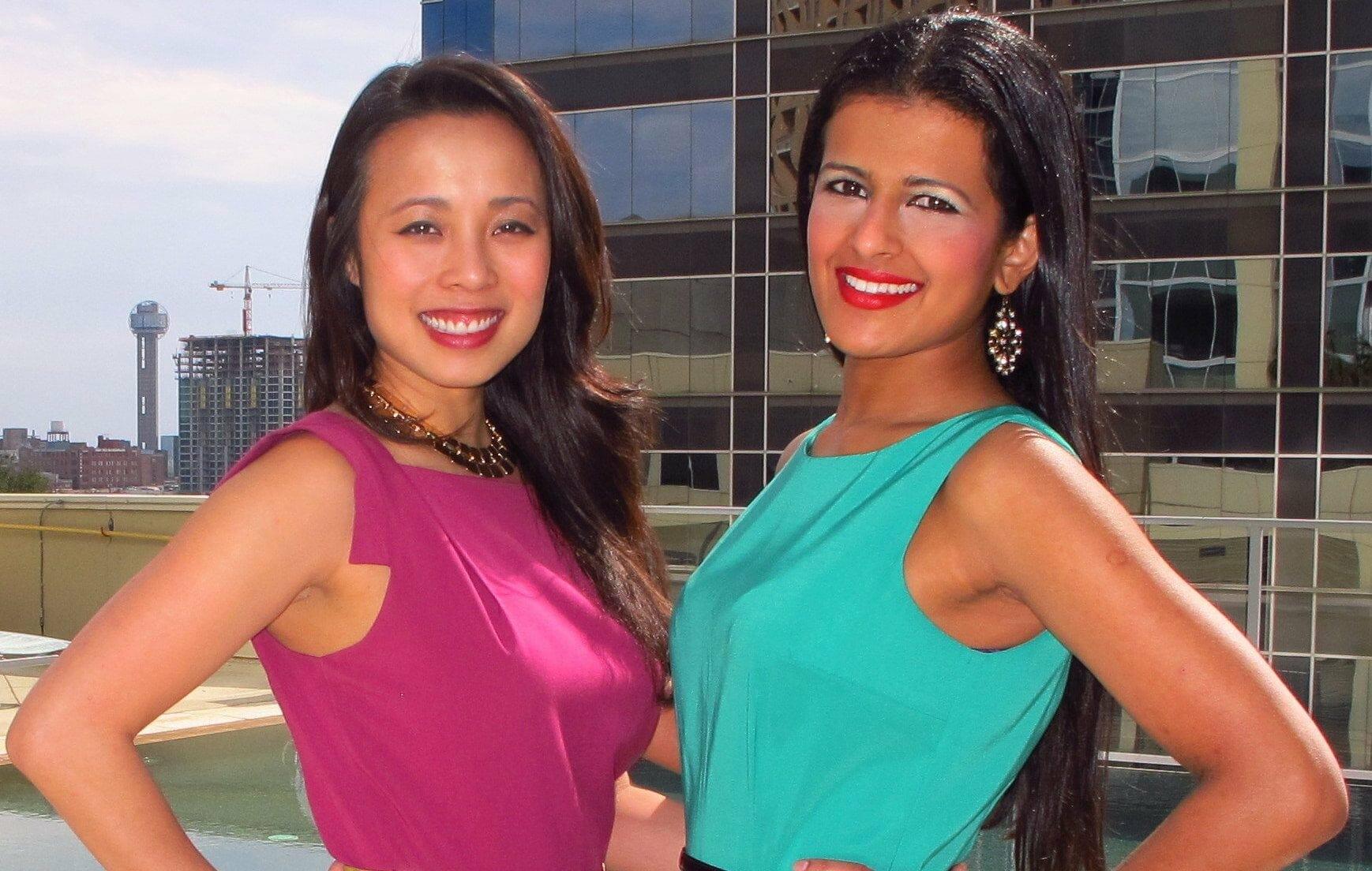 Meghana and Kim - Co-Founders of Spice Madam