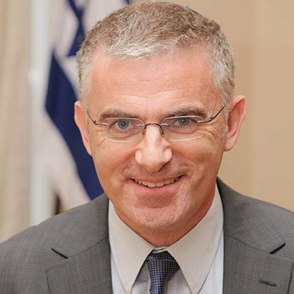 Daniel Taub - Israeli Diplomat and International Lawyer