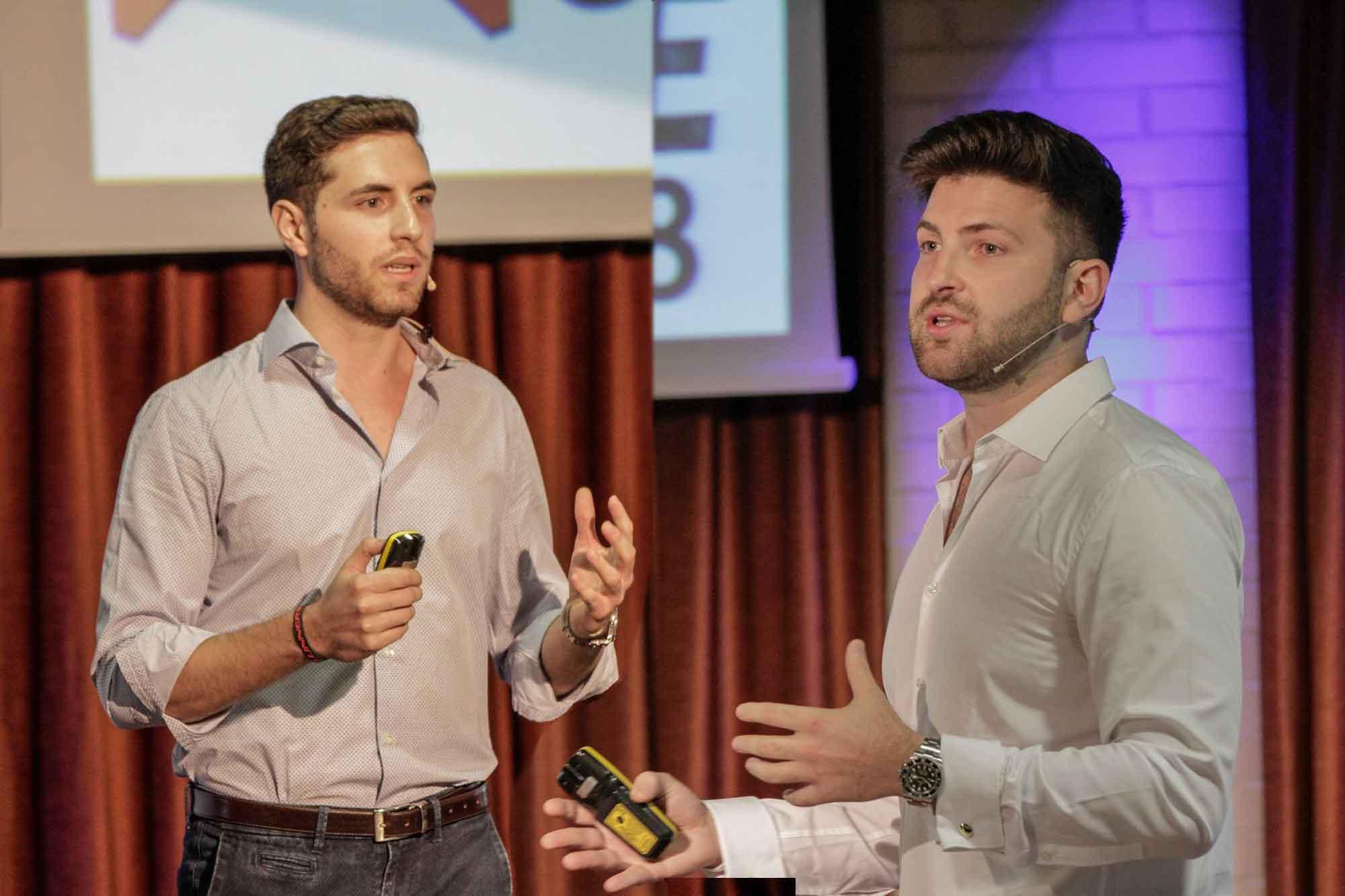 Luca Borreani and Nicolo Manica