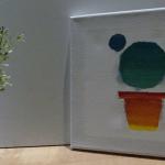 Cuadro decorativo de cactus