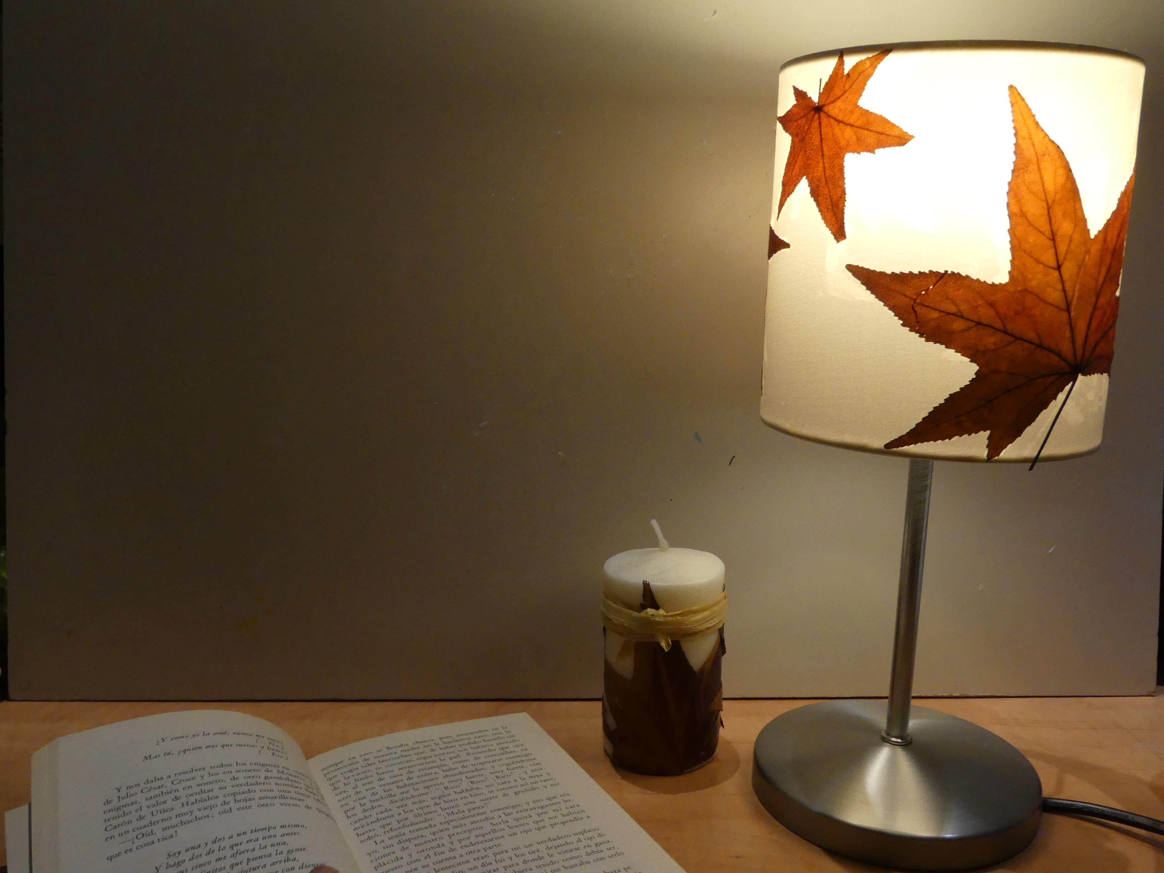 DIY Ikea decoración otoñal