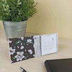 Calendario imprimible fácil de customizar