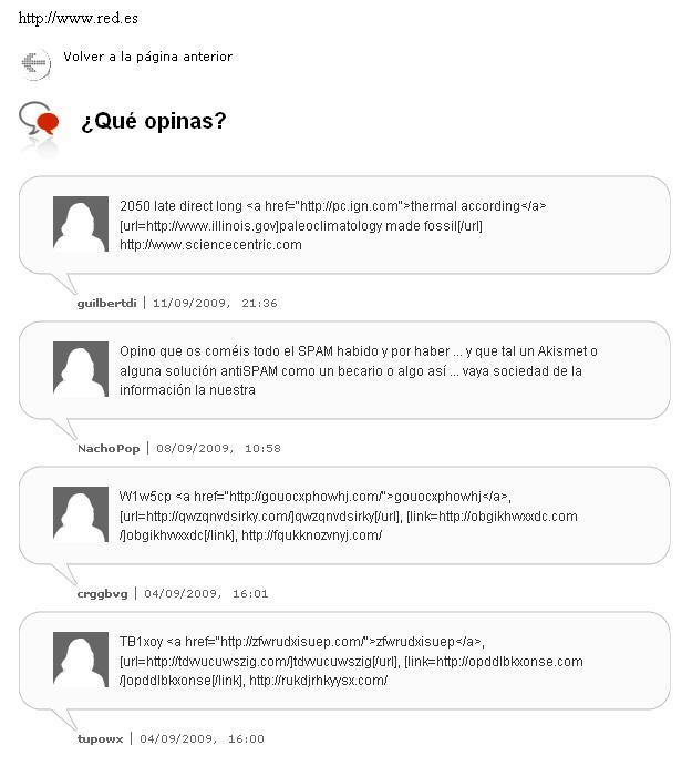 Comentarios en Redes.es