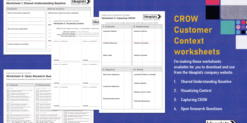 Capturing Customer Context – Free Downloadable Worksheets
