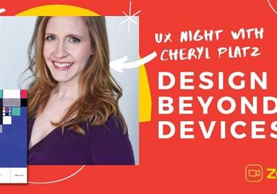 Promo image for UX Salon: Design Beyond Devices