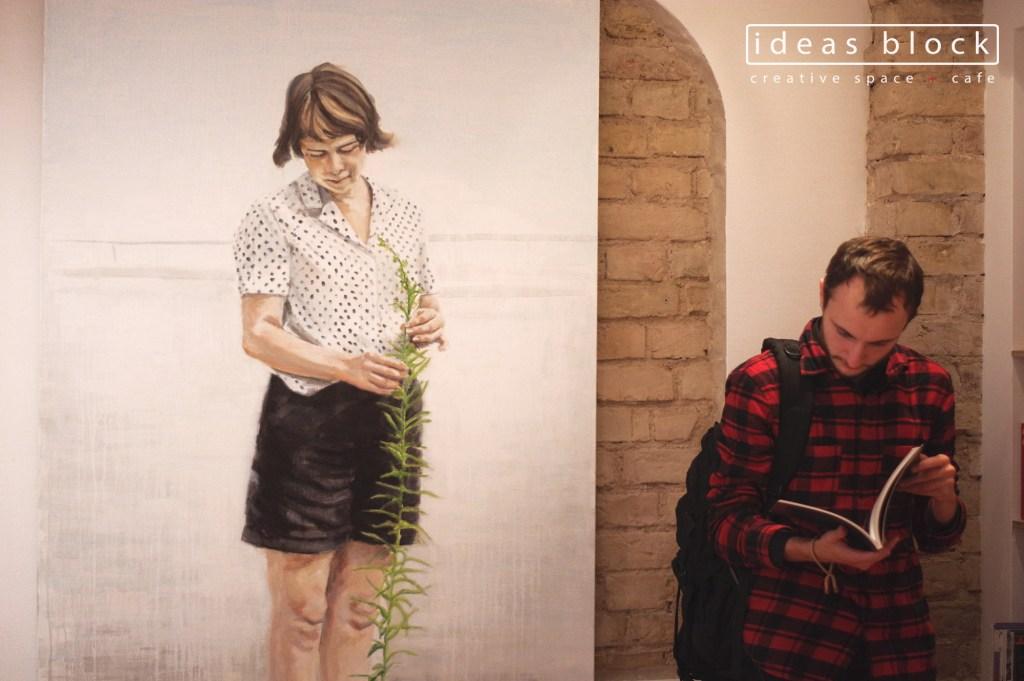 Ruta Matuleviciute and Emily Dundas Oke exhibition opening
