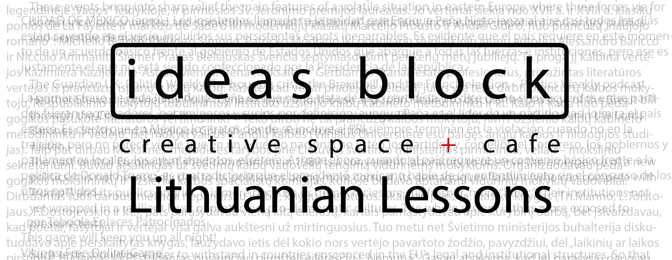 Lithuanian lessons for foreigners in Vilnius